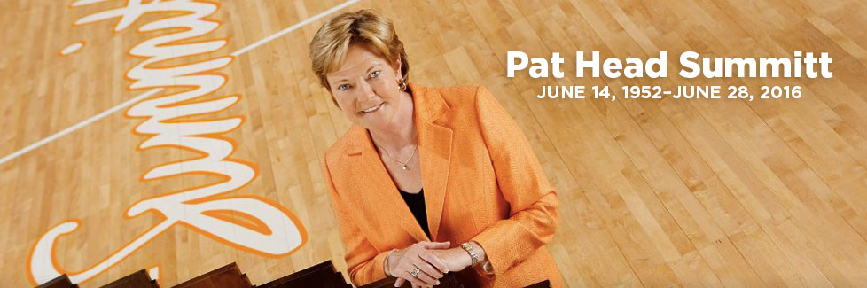 Celebrating Pat Summitt