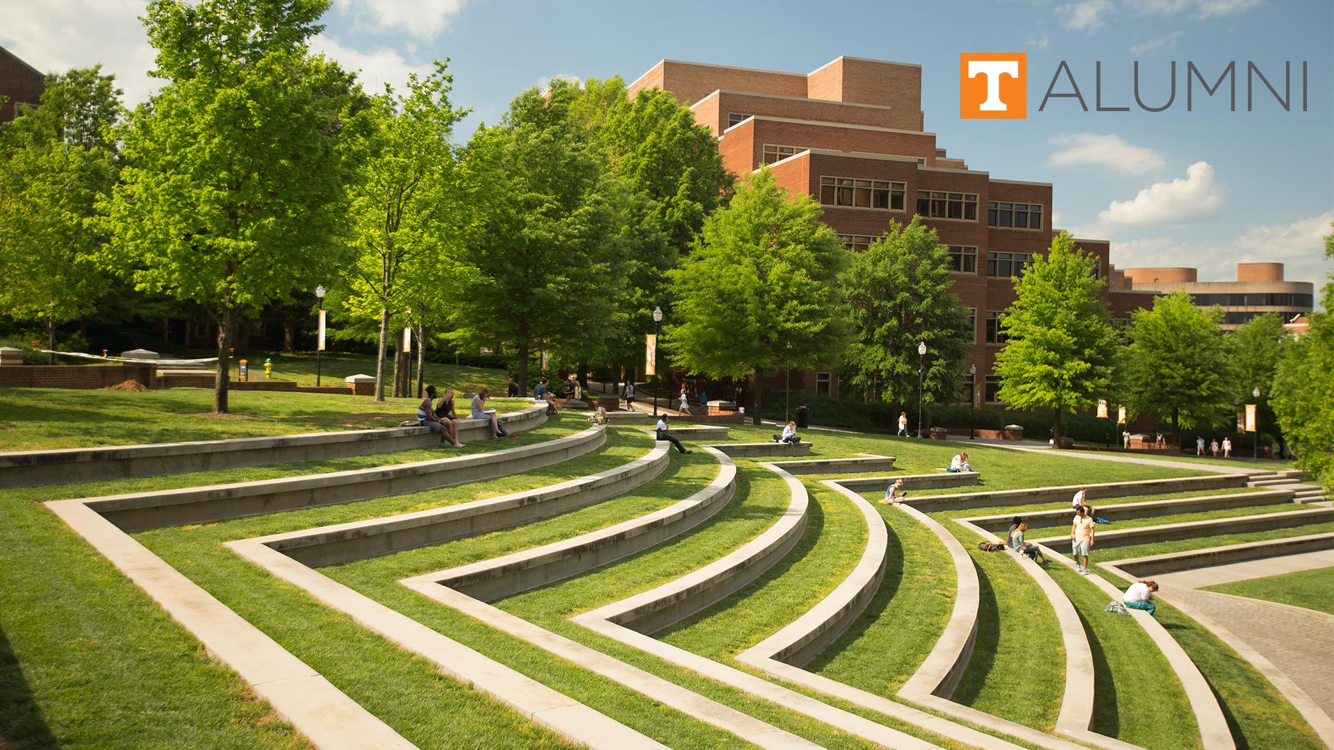Alumni Big Orange Zoom Backgrounds